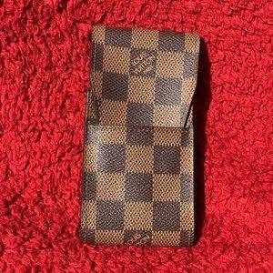 Louis Vuitton Damier Ebene Cigarette Holder